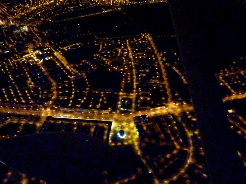 Ostrava v noci